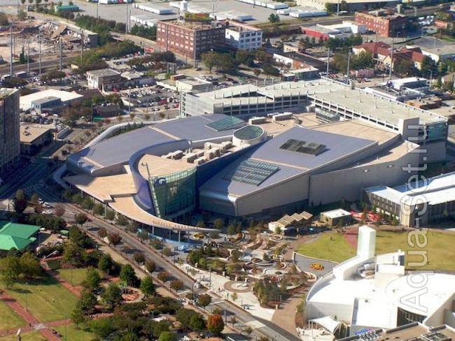 Атланта, Джорджия - Самый большой аквариум в мире