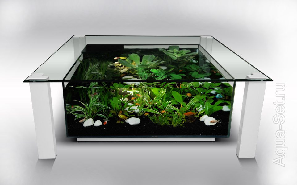 - Fabriquer table basse aquarium ...