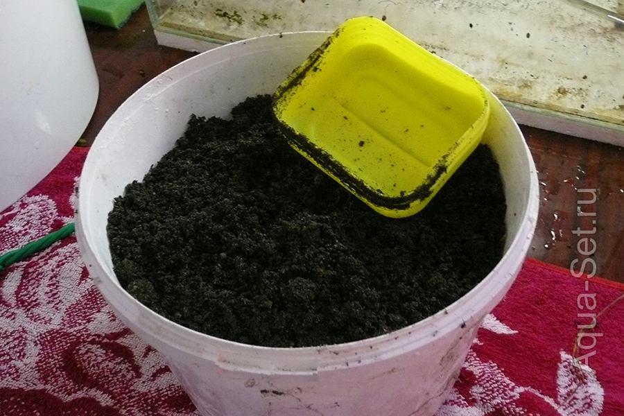 Земляной аквариум - 27 литров