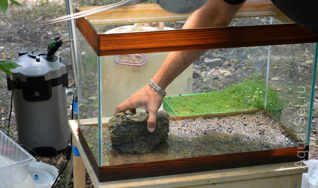 Пошаговое создание аквариума. Мастер Класс