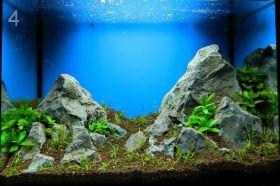 Как сделать скалу в аквариум своими